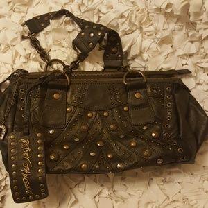 Bestsey Johnson  leather Lucky Horseshoe bag